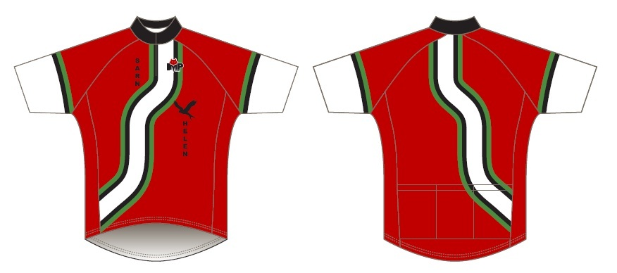 sarn helen club cycling top